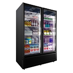 Imbera VRD-43 Commercial Double Door Reach-In Beverage & Food Cooler